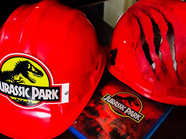 Csináld Magad - Jurassic Park sisak