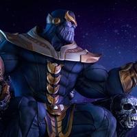 Bosszúállók Thanos szobor