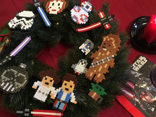 Csináld Magad - Star Wars karácsonyi koszorú