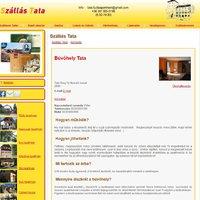 Búvóhely Tata (e-mail ajánlással)