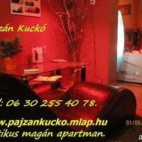 Pajzán Kuckó Budapesten! (E-mail ajánlással!) - Tantra fotel és hidro kád is van a XVIII.kerületben!