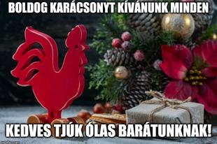 Boldog karácsonyt Tjúk ól!