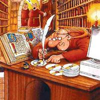 Újra itt és írok Gutenbergről, a Creative Common szülőatyjáról meg az internetről úgy általában