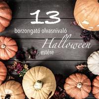 13 hátborzongató könyv Halloween estére