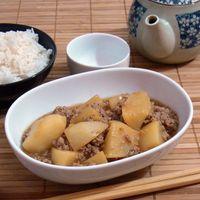 Kabu no soboro ni - Japán ragu sörretekkel és darált hússal