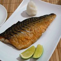Saba no shioyaki - Sóval sült makrélafilé