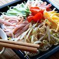 Hiyashi chuuka- 'Hideg kínai' tésztametélt