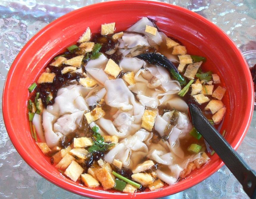 shanghai-i wonton leves minden tartozékával
