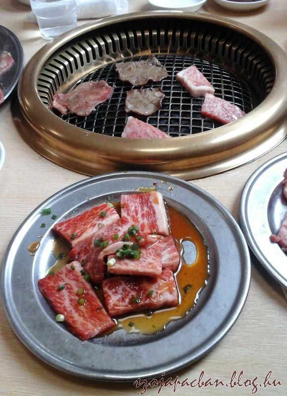 a japánok jól tudják, hogy  marhahús nem feltétlenül diétás alapanyag