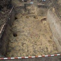 Középkori település feltárása Kunszentmárton határában