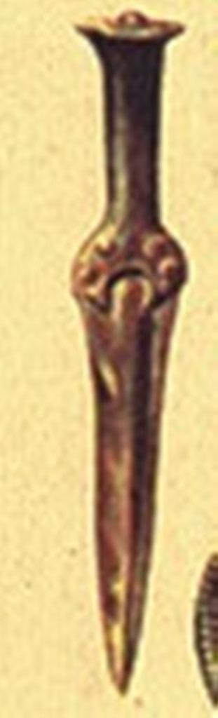 2. Bronzkori tőrkard. Forrás: https://wikimedia.org