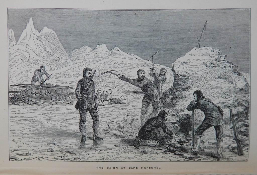 Illusztráció McClintock naplójából - A Victory point