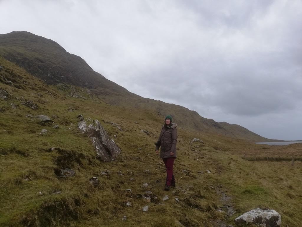 8. kép: Én az ír vadon közepén