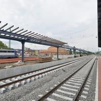 A vonat állomás