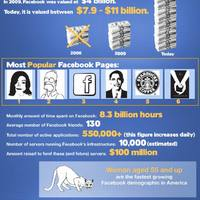 Facebook tények és tévhitek (inforafika)