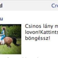 Nem mindennapi Facebook hirdetés