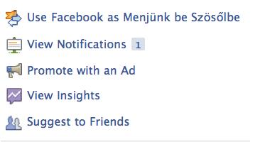 Facebook figyelmeztetések az adminiknak
