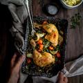 Zöldborsós csirke