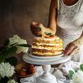 Vaníliakrémes barackos torta
