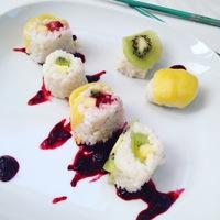 Gyümölcs sushi