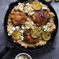 Görög csirke citromos rizzsel