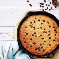 Serpenyős, csokis keksz