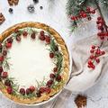 Fehércsokis-áfonyás pite