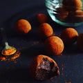 Chilis-csokis trüffel