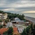 Elhagyatott szovjet laboratórium Grúziában