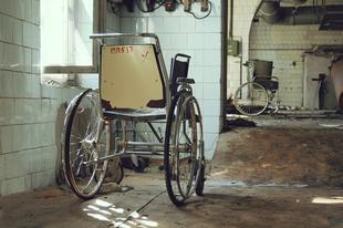 Elhagyatott szovjet pszichiátriai intézet Szentpéterváron