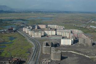 Oganer, egy befejezetlen szovjet szellemváros Norilszk mellett