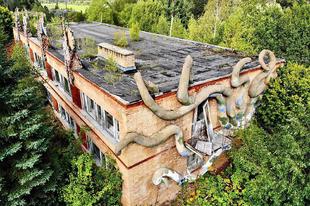 Szkazka, egy hátborzongató elhagyott szovjet úttörőtábor