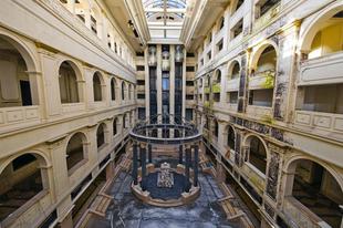 Szevernaja Korona, öt csillagos luxushotel elhagyatva Szentpéterváron