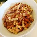 Pasta e fagioli  Vegan recipe from @nigellalawson  I love rosemary in it!