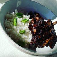 Blackpepper #seitan with jasmin rice :)