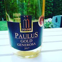Wine of this Saturday from #molnárborház  Best wine ever!  Limitált kiadás.