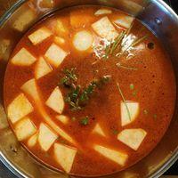 My winter peas soup...