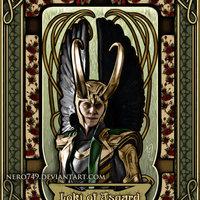Szecessziós Loki