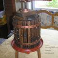 Steampunk Garage Company - szőlőprés