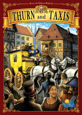 Thurn and Taxis társasjáték