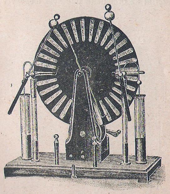 Wimshurst elektromos gépe.