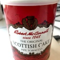 A latakia mentes skot - Robert McConell Scottish Cake