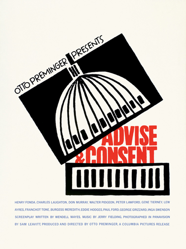 Advise & Consent, 1962, rendező: Otto Premingerr