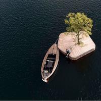Különleges, fából készült lebegő szigetek lephetik el Koppenhága vizeit