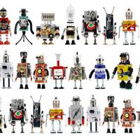 Újrahasznosított robotok