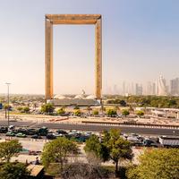 Dubaj legújabb látványossága egy hatalmas képkeret