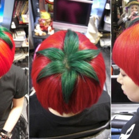Fura haj: japán paradicsomfrizura