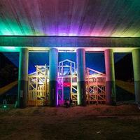 Kulturális tér és találkahely egy kassai híd alatt
