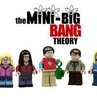 Itt van Sheldon nappalija LEGO-ból