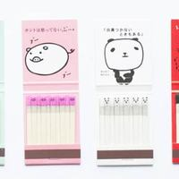Kokeshi gyufák Japánból